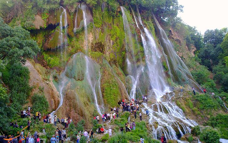 آبشار بیشه در لرستان