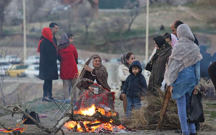 چهارشنبه سوری کردستان
