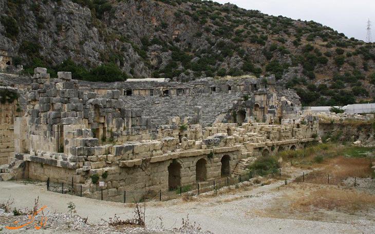 شهر باستانی میرا در آنتالیا