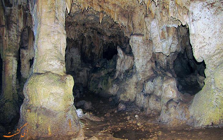 کشفیات غار قلعه کرد قزوین