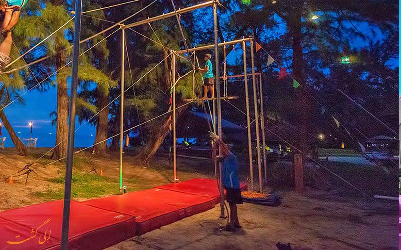 پارک پرواز پرنده ی کیدزسول در پوکت | Flying Trapeze Phuket Adventure KidzSole