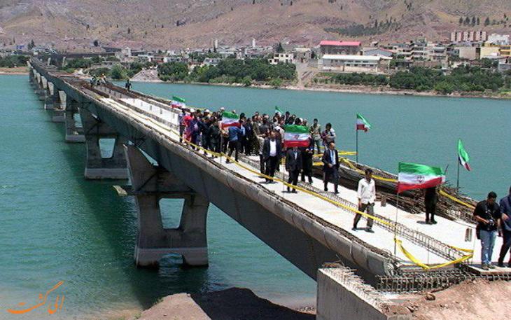 بهره بردای از راه آهن گیلان و طولانی ترین پل راه آّهن کشور