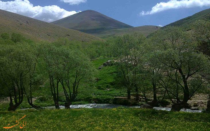 روستای لیقوان در تبریز 2