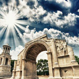 بناهای تاریخی رومیان باستان