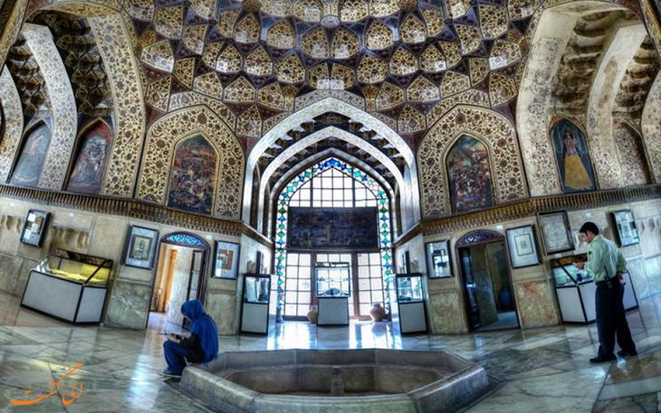 معماری داخلی باغ نظر شیراز