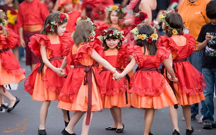 فستیوال گل های بهاری مادیرا