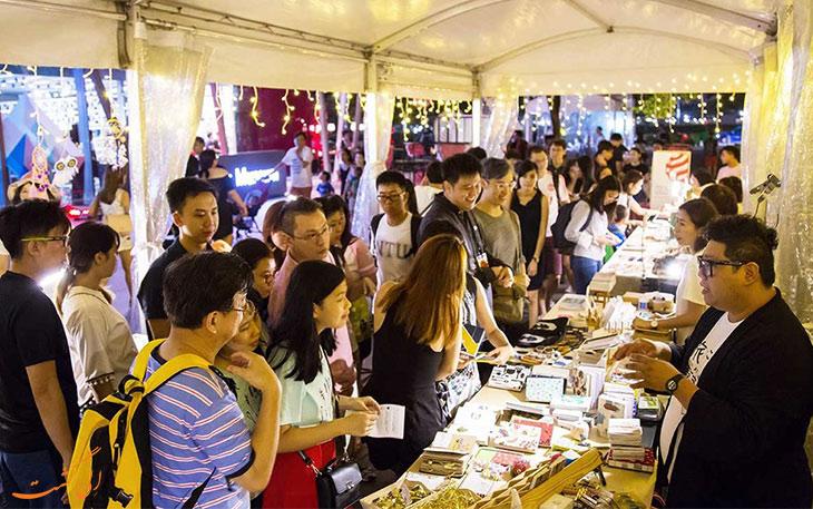بازار طراحان و هنرمندان سنگاپور