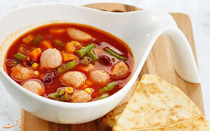 سوپ سوسیس
