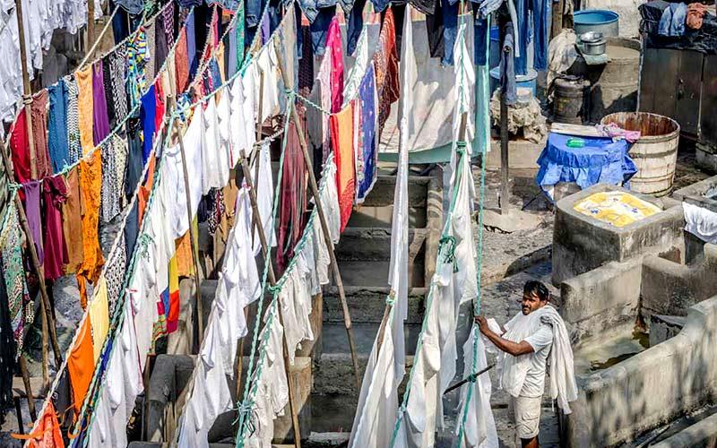رختشویخانه بمبئی دوبی گات