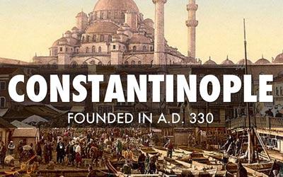 شهر قسطنطنیه کجاست
