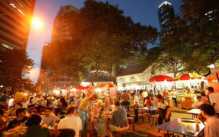 بازار لائو پا سات سنگاپور