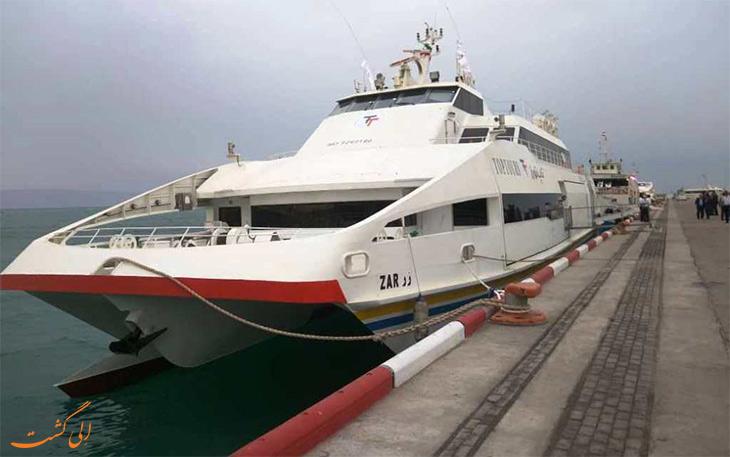 کشتی گردشگری کیش