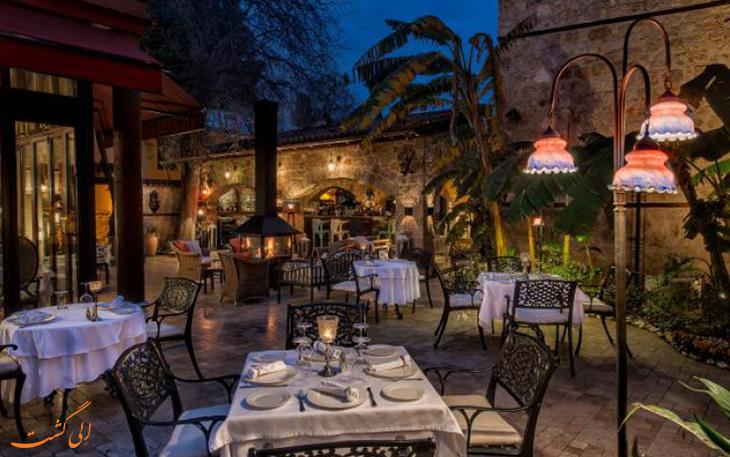 رستوران سراسر فاین دانینیگ آنتالیا