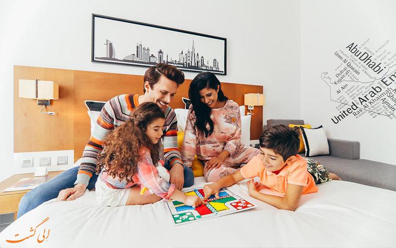 اتاق های خانوادگی هتل تریپ بای ویندهام دبی
