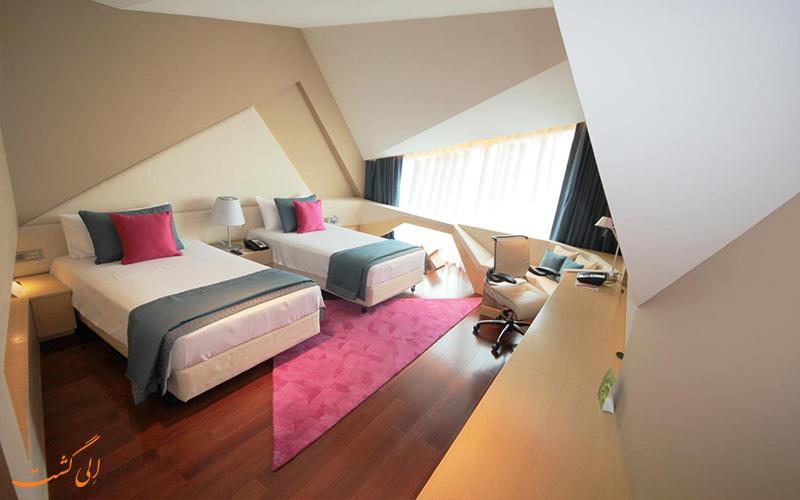 اتاق ها در هتل ویوانتا بای تاج دوارکا نیو دهلی