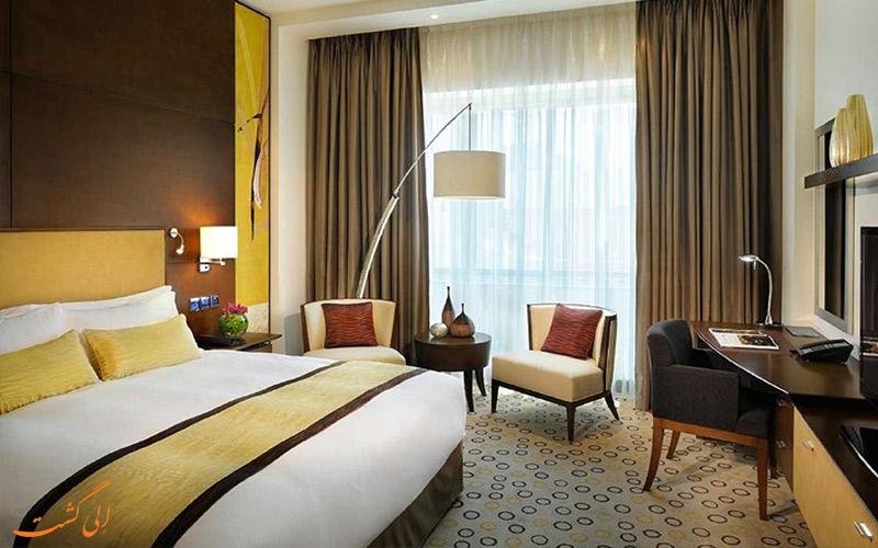 اتاق هتل آسیانا دبی و امکانات درون آن