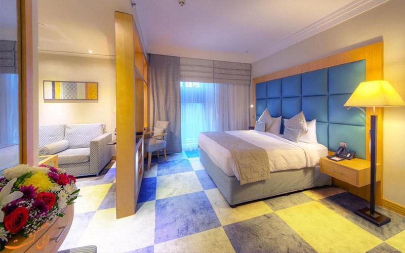 اتاق و سوئیت در هتل رین تری دبی
