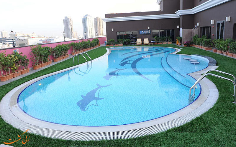 استخر روباز هتل اسکوت دبی