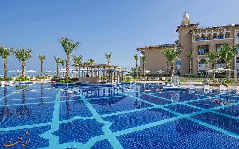 استخر هتل ریکسوس سعدیات آیلند ابوظبی