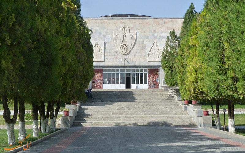 موزه افراسیاب-جاذبه های سمرقند