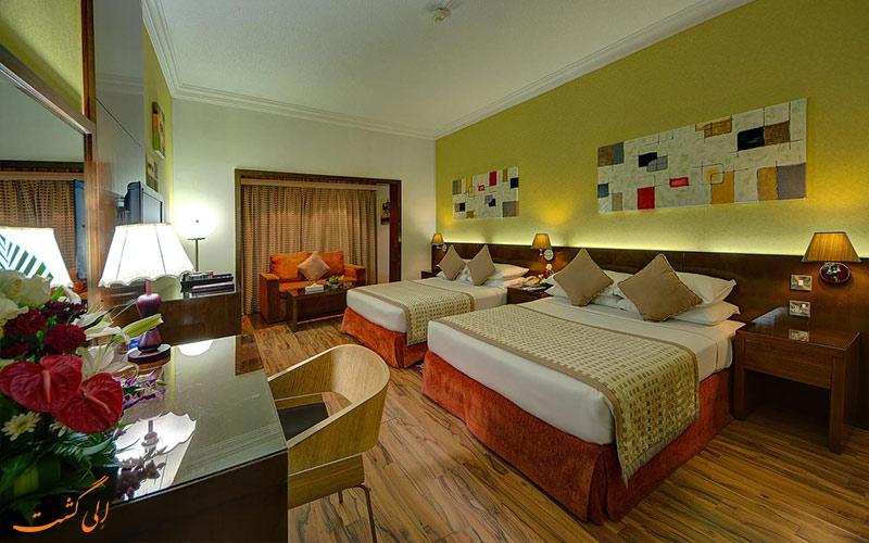انواع اتاق ها در هتل اسکوت دبی