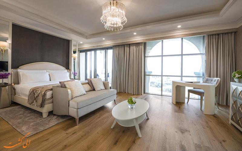 انواع اتاق در هتل ریکسوس سعدیات آیلند ابوظبی