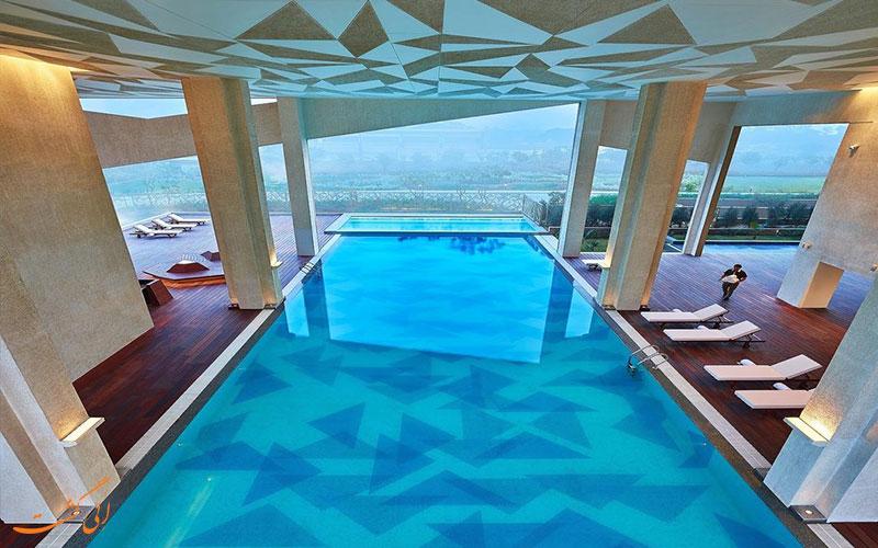 ایوان استخر هتل ویوانتا بای تاج دوارکا نیو دهلی