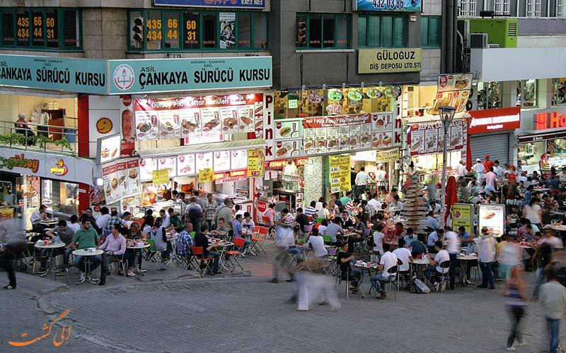 بازارهای سنتی و خیابان های معروف-راهنمای خرید در آنکارا
