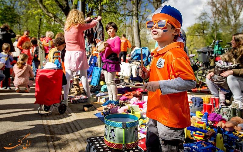 بازارچه های روز پادشاهی هلند