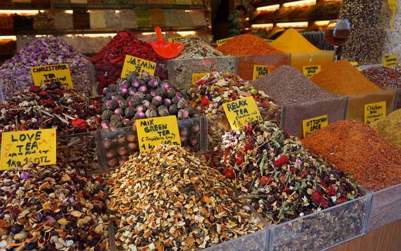 بازار ادویه-تفریحات سفر به استانبول