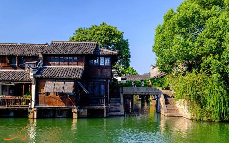 بهار ووژن، شهر آبی چین