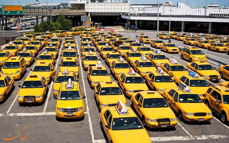تاکسی های فرودگاهی-نکات سفر به شرق آسیا