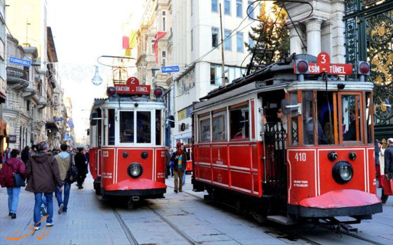 تراموا-تفریحات سفر به استانبول