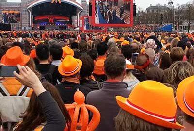 جشن روز پادشاهی هلند در مجله الی گشت