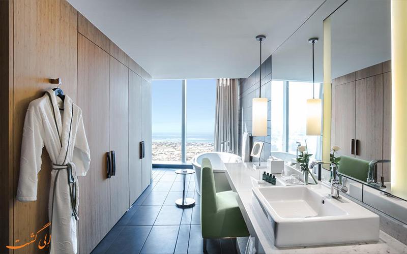 حمام اتاق ها در هتل سوفیتل داون تاون دبی