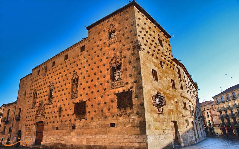 خانه کاسا دو لا کانچاس در شهر سالامانکا اسپانیا