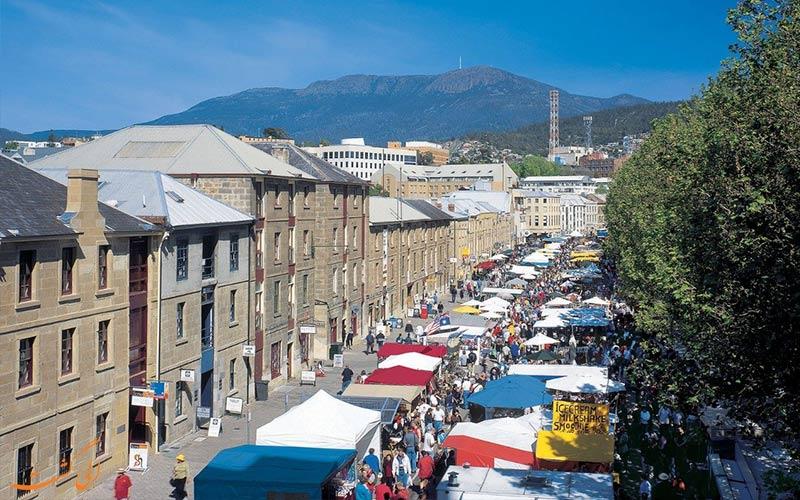 بازارهای شلوغ خرید در شهر سالامانکا اسپانیا