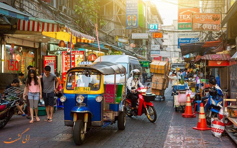 خیابان های خرید بانکوک-