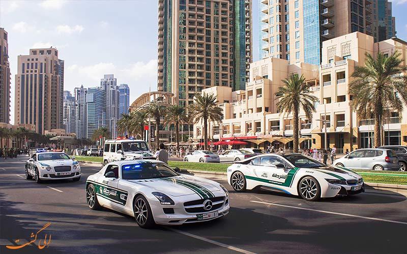 رانندگی و ماشین های دبی-اشتباهات سفر به دبی