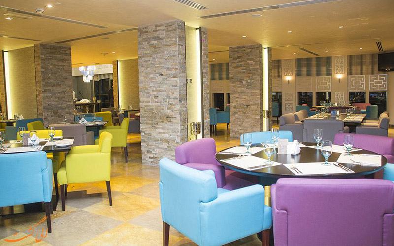 رستوران های هتل رین تری دبی