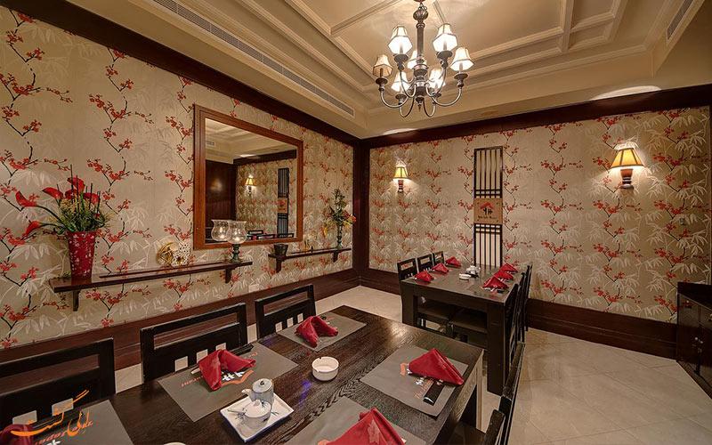 رستوران در هتل اسکوت دبی