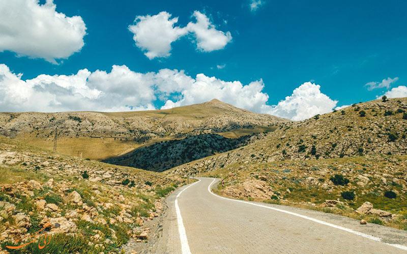 رسیدن به قله کوه نمرود ترکیه