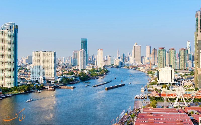 رودخانه چائو فرایا بانکوک-سفر 5 روزه به تایلند