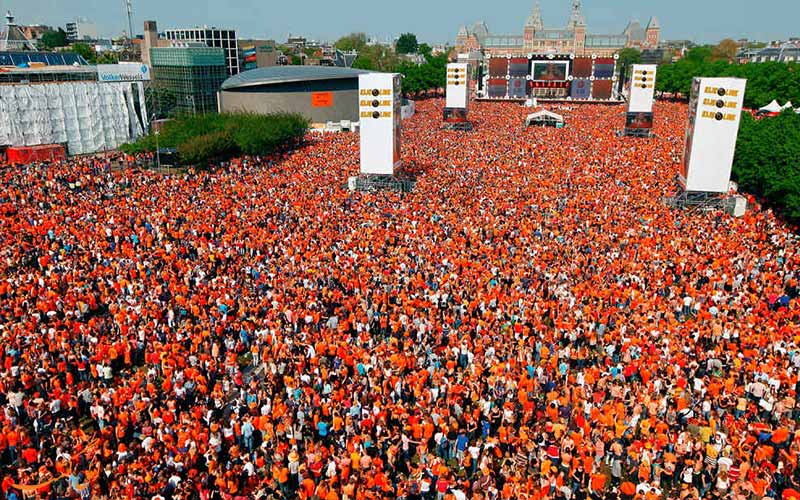 روز پادشاهی هلند و کارناوال های آن