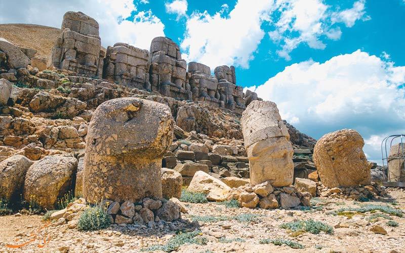 سایت باستانی کوه نمرود ترکیه