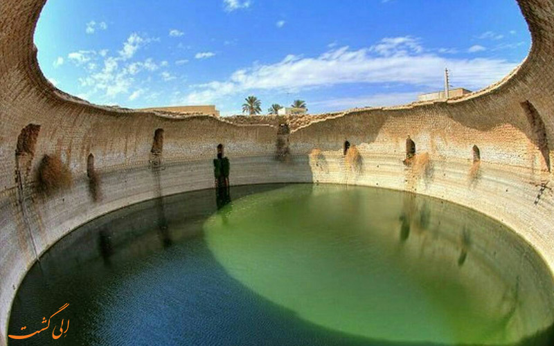آب انبار برکه کل شیراز از آب انبارهای ایران