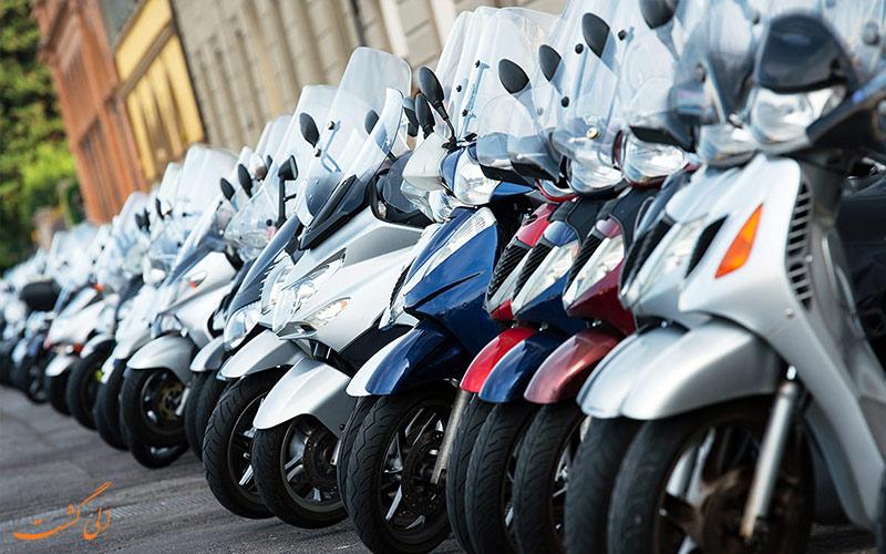 شرکت های اجاره موتورسیکلت در سفر