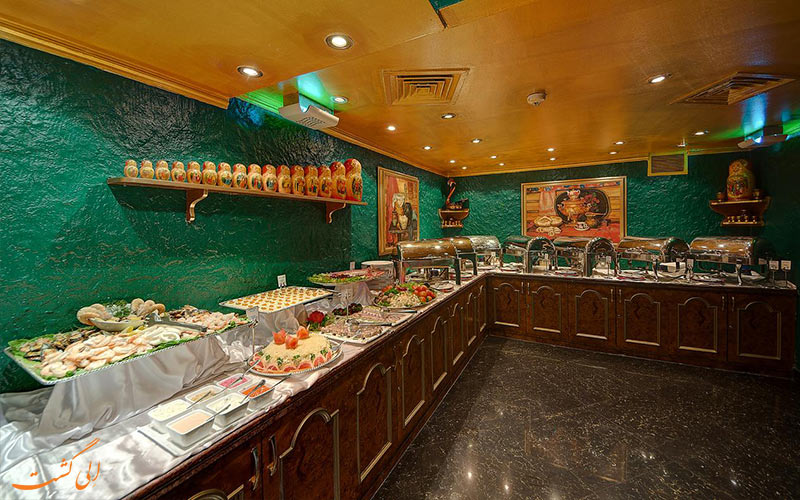 فضاهای رستورانی هتل اسکوت دبی