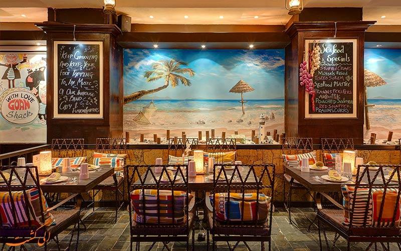 فضای سالن غذاخوری در هتل اسکوت دبی