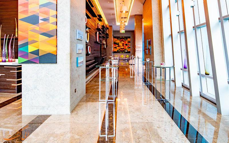 فضای عمومی هتل سوفیتل داون تاون دبی